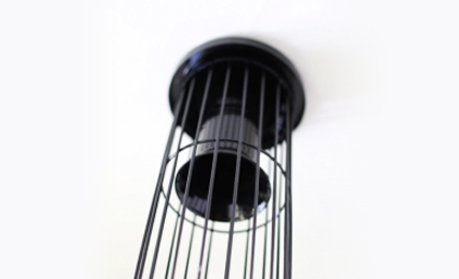 filter support cage